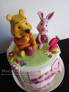 cake  Winnie-the-Pooh and Piglet