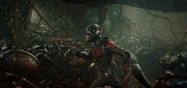 Ant-Man şi armata sa de furnici