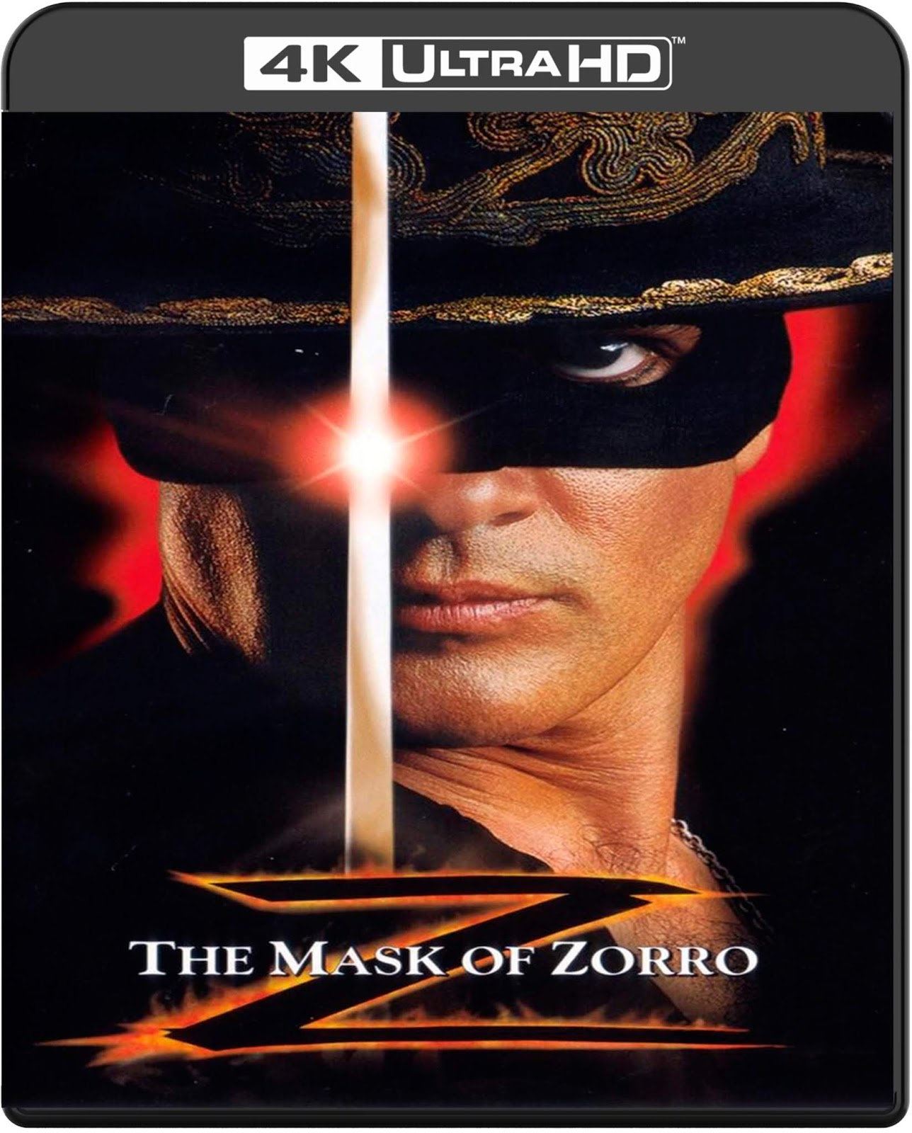 The Mask of Zorro [1998] [UHD] [2160p] [Latino – Castellano]