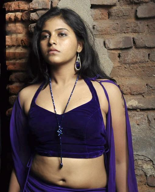 Anjali Hot Navel Show Photos