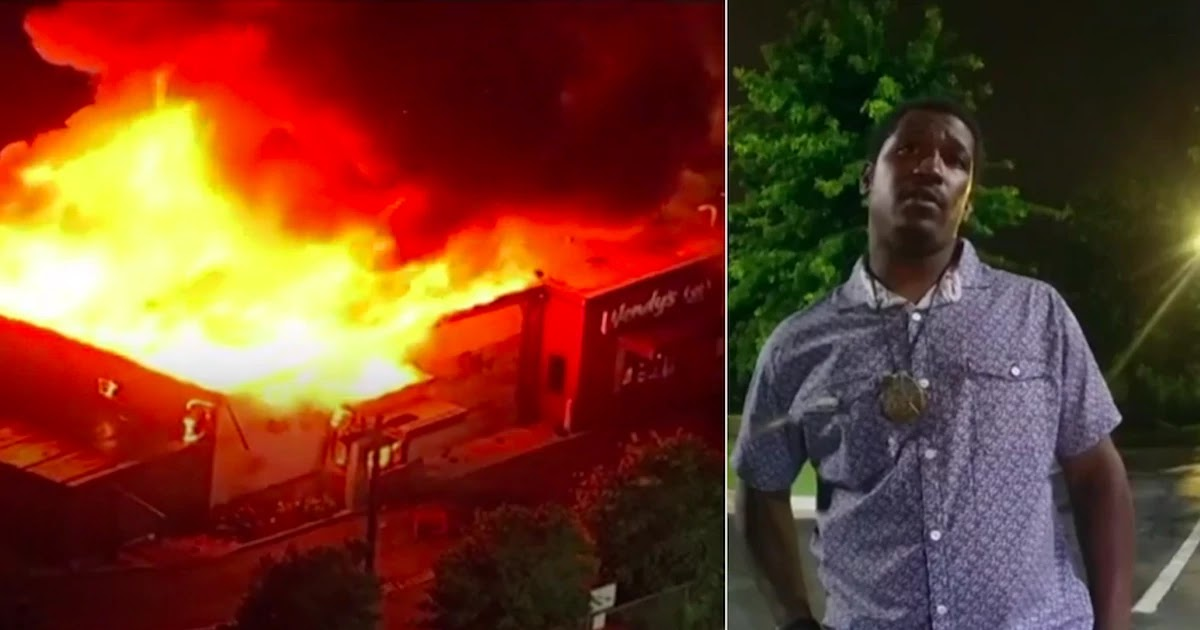 Riots Erupt In Atlanta After 27-Year-Old African American Rayshard Brooks Is Shot Dead By Officer And Chief Of Police Resigns