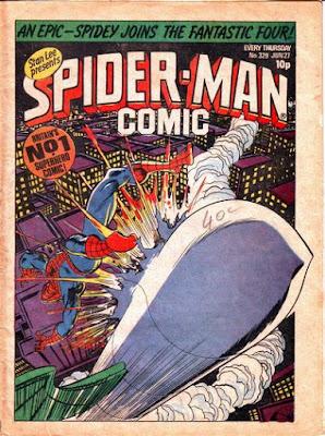 Spider-Man Comic #329
