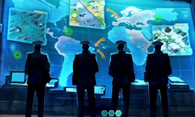 Pantalla de carga e ingreso a la Conquista Global en World at Arms
