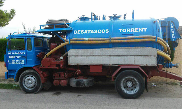 Limpiezas industriales camión cuba Valencia