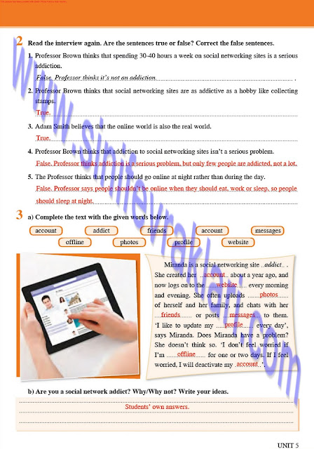 8. Sınıf Tutku Yayınları İngilizce Çalışma Kitabı Cevapları Sayfa 31