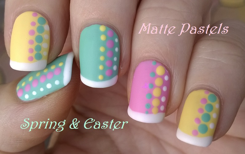 Charming Nail Art Designs Using Toothpicks Thick Best Product For Nail Fungus Rectangular Nail Art Pointed Nail Art Design Flowers Old Dr Remedy Nail Polish Reviews BlueNail Polish Box Storage Life World Women: Matte Pastel Nail Art For Spring \u0026amp; Easter In ..