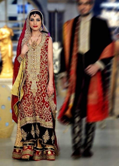 Deepak Perwani Mail: Deepak Perwani Bridal Dresses 2014