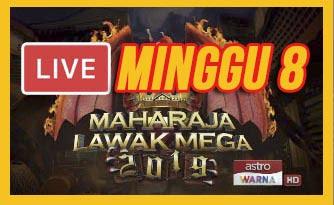 Live Streaming Maharaja Lawak Mega 20.12.2019 (MINGGU 8).