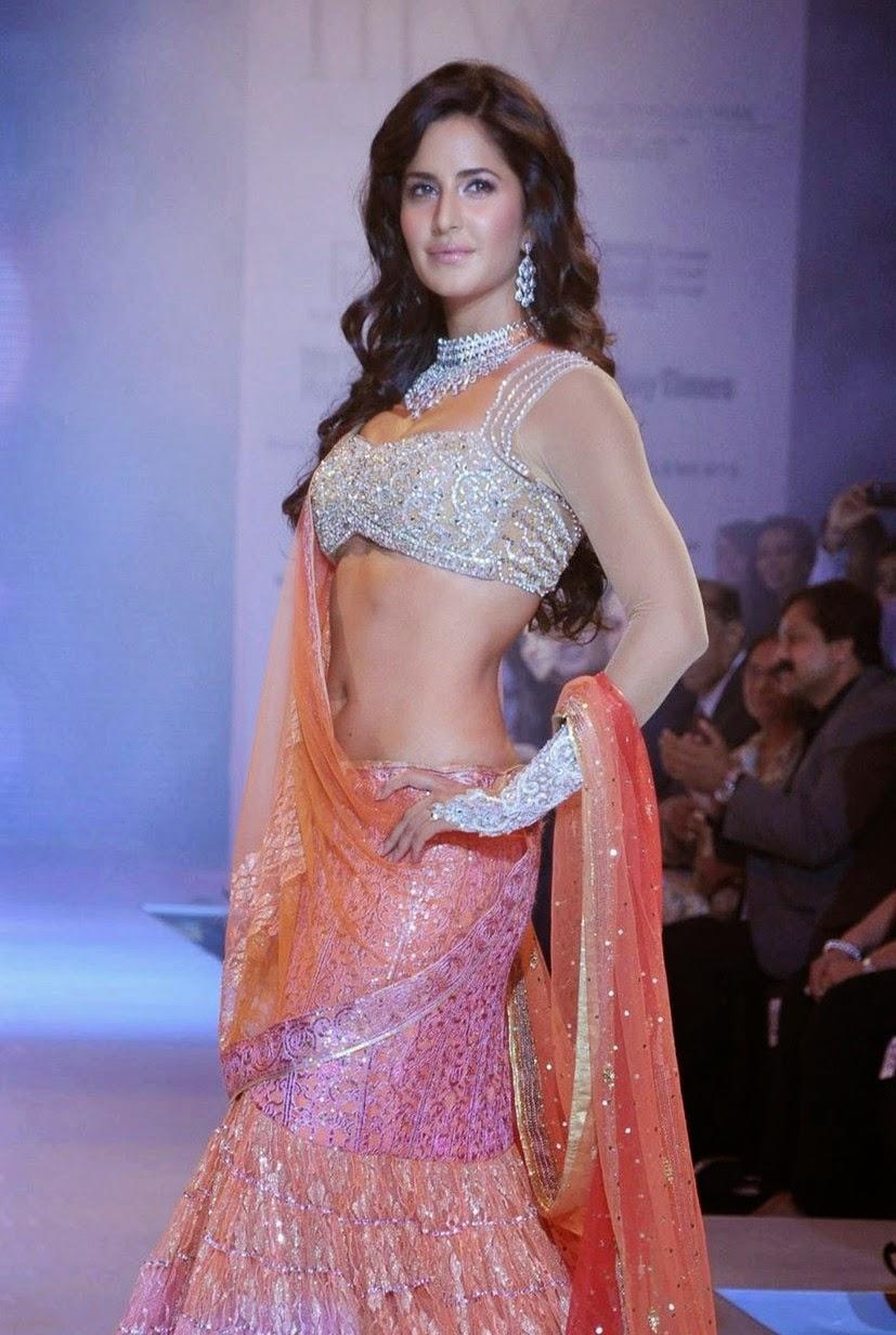 Anastasia Acosta Sexy katrina kaif sexiest navel and cleavage show as she walks