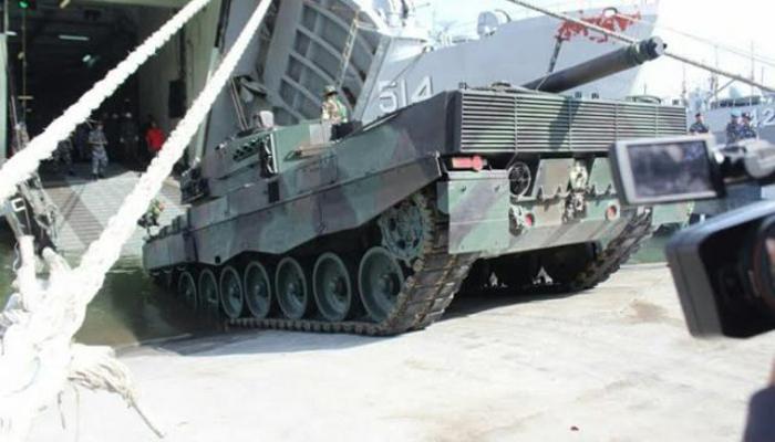 MBT Leopard 2A4 TNI