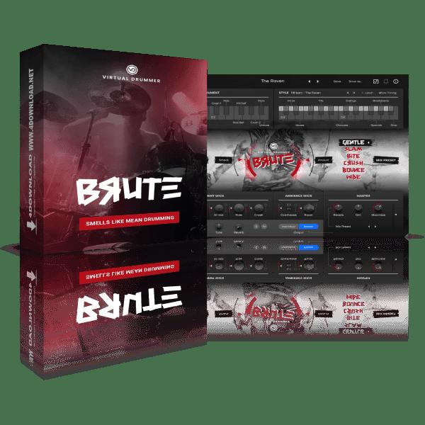 UJAM Virtual Drummer BRUTE v2.1.1 Full version