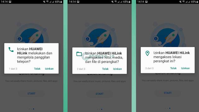Cara mengganti password MiFi Huawei dengan aplikasi