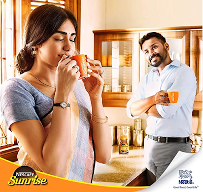 Nescafe Sunrise Coffee Couple Pack with 2 Coffee Mugs to Brings Happiness in Relationship