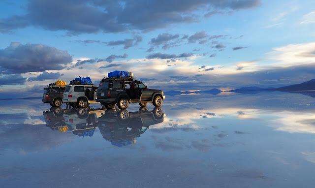 Salar de Uyuni - Salzwüste Bolivien