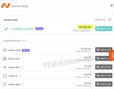 domain-cost