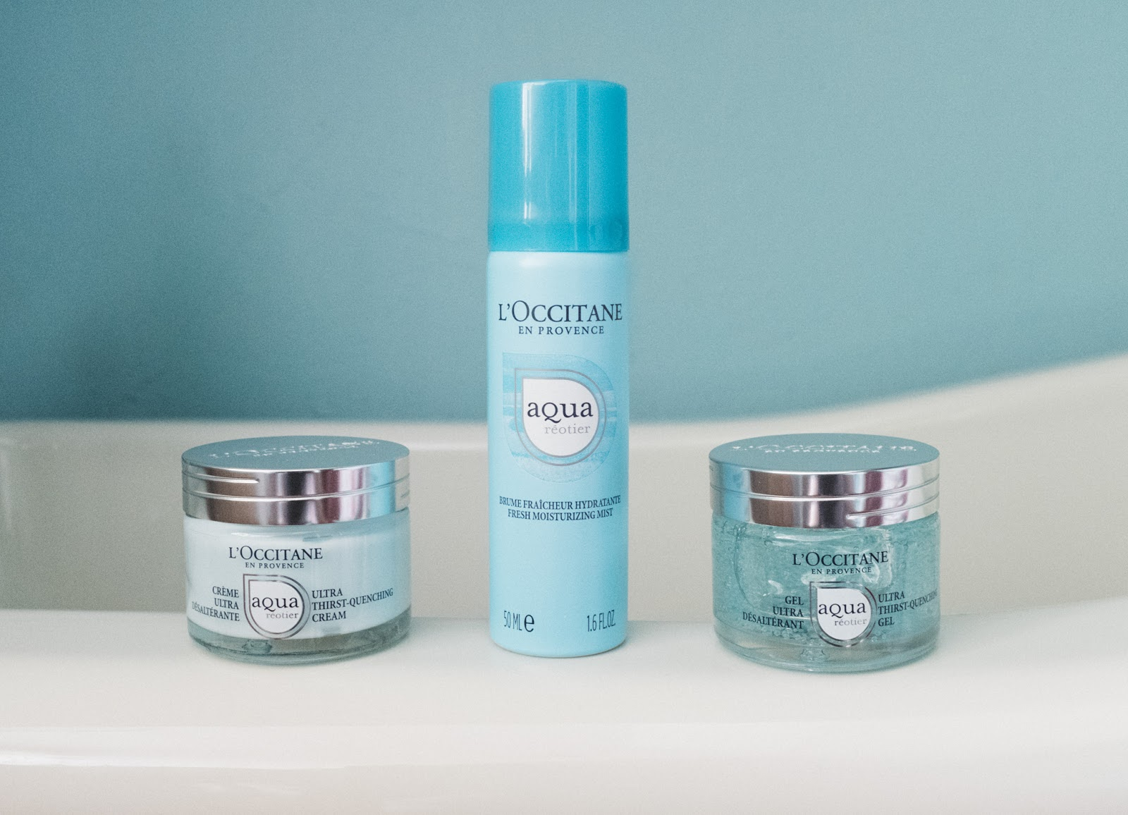 L'Occitane Aqua Réotier Collection