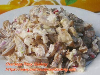 Kinilaw na Kambing Recipe