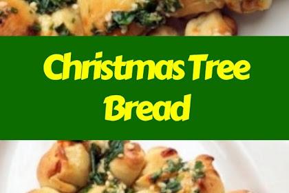 Christmas Tree Bread #christmas #bread