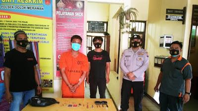 Kejar-kejaran dengan Polisi, Warga Medan Ditangkap, Ketahuan Nyuri Sepmor di Sergai