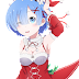 Tags: Render, Armpit, Arms up, Bare shoulders, Cleavage, Large Breasts, Maid, Re Zero Kara Hajimeru Isekai Seikatsu, Rem, Shorts