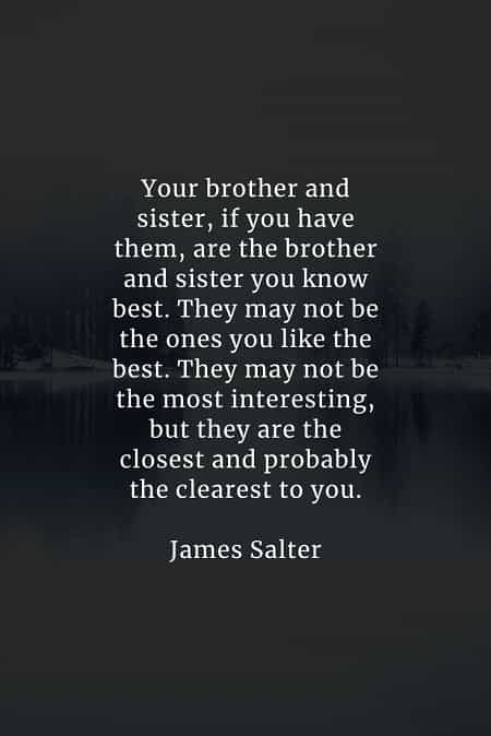 Quotes About Your Brother : quotes, about, brother, Brother, Quotes, Inspire, Treasuring, Siblings