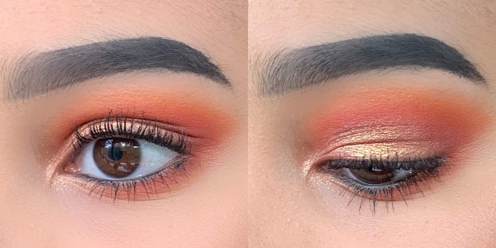 Patricia Bright Palette Eye Shadow Look 1