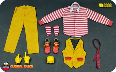 Super Duck Hamburg Uncle Joker outfit