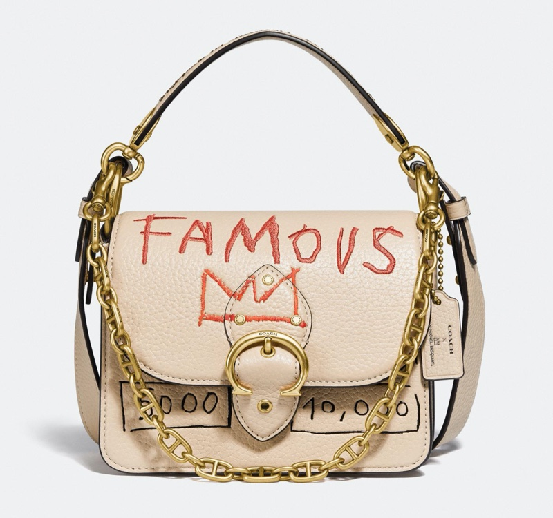 Coach x Jean-Michel Basquiat Beat 18 Shoulder Bag