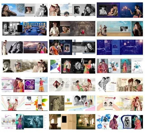 80+ 12x36 Wedding Album Design PSD Templates