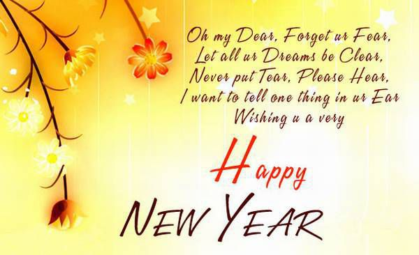 Best Happy New Year Wishes 2018 SMS