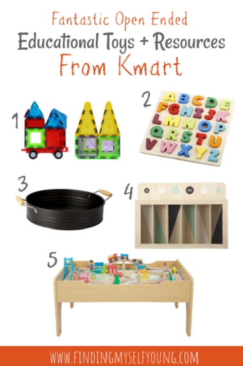 Open ended educational toys and resources from Kmart Australia