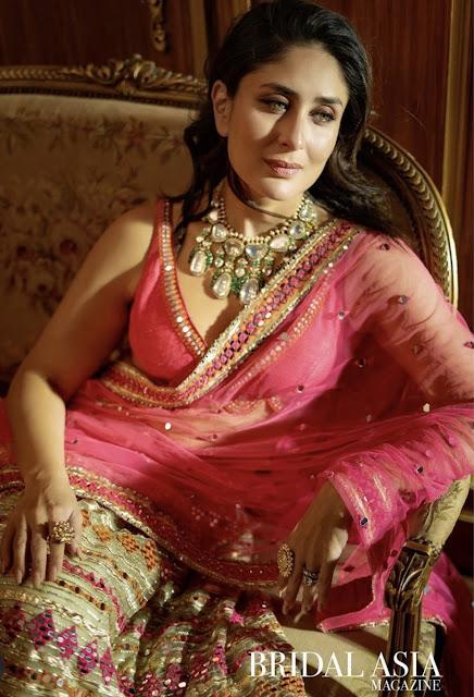 Kareena Kapoor's Bridal Asia Magazine Shoot