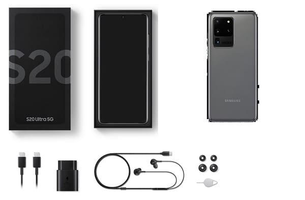 الهاتف المحمول Samsung Galaxy S20 / S20 Plus
