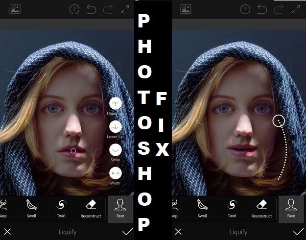 Photoshop Fix - Επίσημη εφαρμογή της Adobe για διορθώσεις σε φωτογραφίες