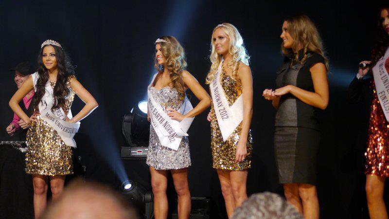 Nina Fjalestad was crowned Miss Earth Norway 2012