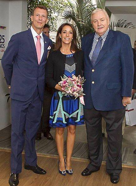 Prince Joachim and Princess Marie, Prince Nikolai, Prince Felix, Prince Henrik, Princess Athena arrived Brazil for 2016 Summer Rio de Janeiro Olympics