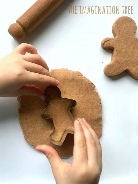 Gingerbread play dough recipe!