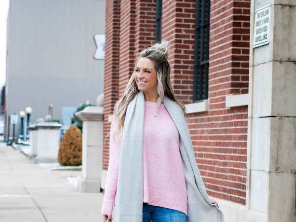 The Best Basic Pink Sweater
