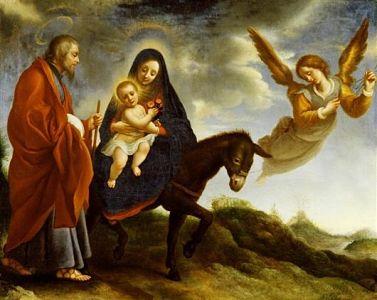 jesus huida a egipto