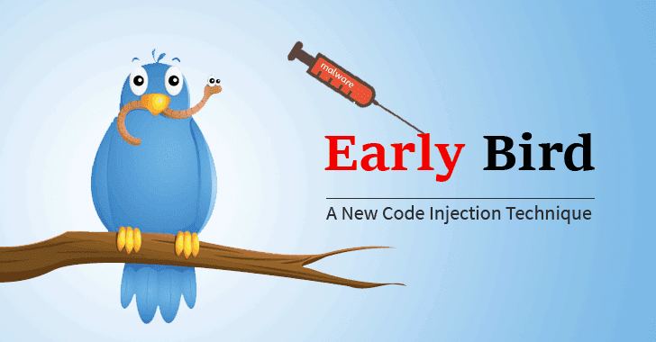 early-bird-code-injection-technique