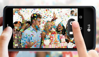 HP LG K8 dengan Android Nougat