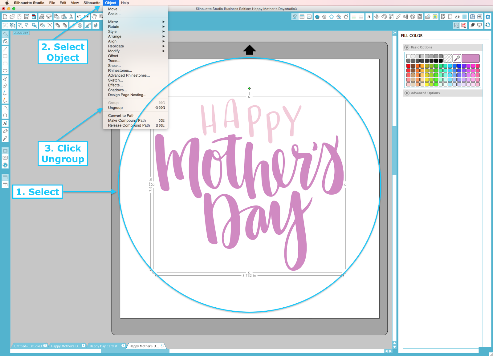 Silhouette UK Design Of The Week Mothers Day Oh Happy Day Card - A basic guide to vinyl signs removal optionshow to use vinyl off to remove sign and vehicle graphicssteps