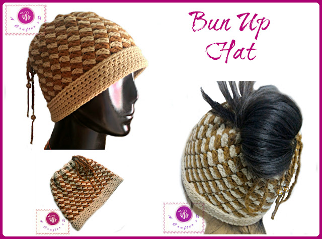 crochet pony tail hat