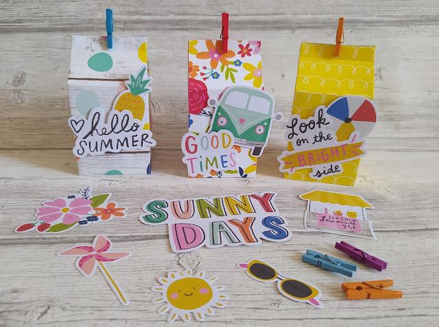 Summer Box avec la collection Sunkissed de Simple Stories