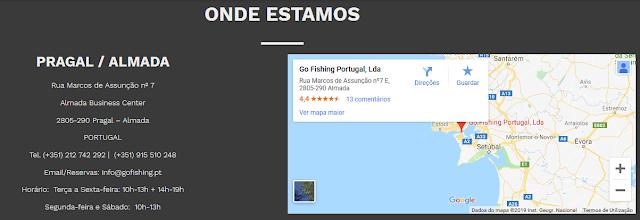 16 - Loja de pesca Go Fishing