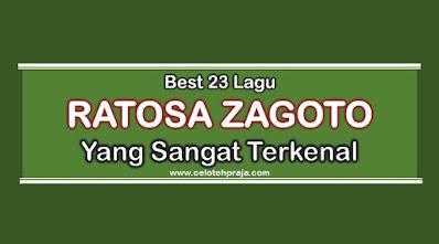 21 Lirik Lagu Ratosa Zagoto Paling Terkenal, Disukai Banyak Orang