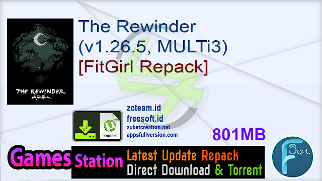 The Rewinder (v1.26.5, MULTi3) [FitGirl Repack]