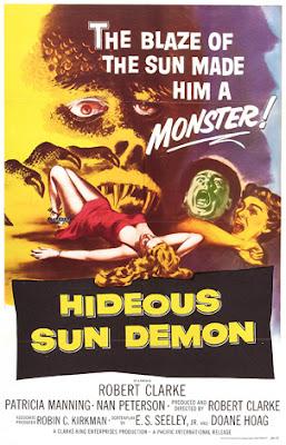Poster - The Hideous Sun Demon (1958)