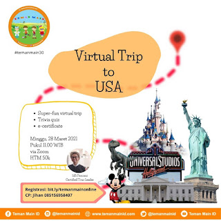 #temanmain30 : Virtual Trip to USA