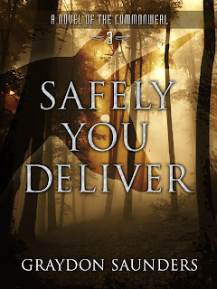 Cover art for Safely You Deliver, Commweal series book number three.